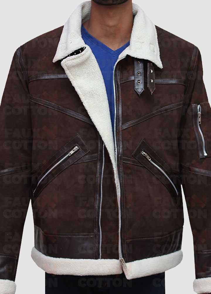 Power 50 Cent Shearling Jacket
