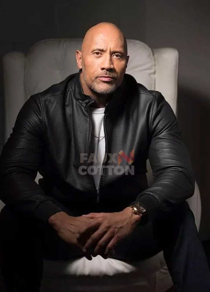 Fighting with My Family Dwayne Johnson Jacket