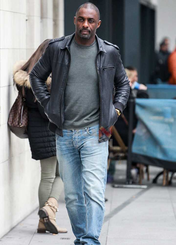 The Jungle Book Shere Khan (Idris Elba) Leather Jacket