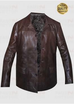 24 Season 8 Jack Bauer Brown Leather Jacket