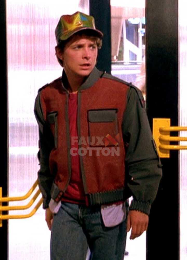Back to the Future Marty McFly Bomber Jacket