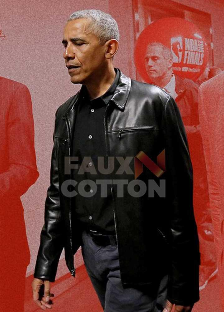 Barack Obama Black Jacket