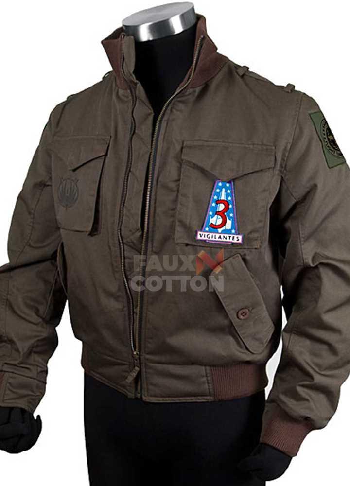 Battlestar Galactica Apollo Adama Bomber Jacket