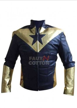 Booster Gold Leather Jacket