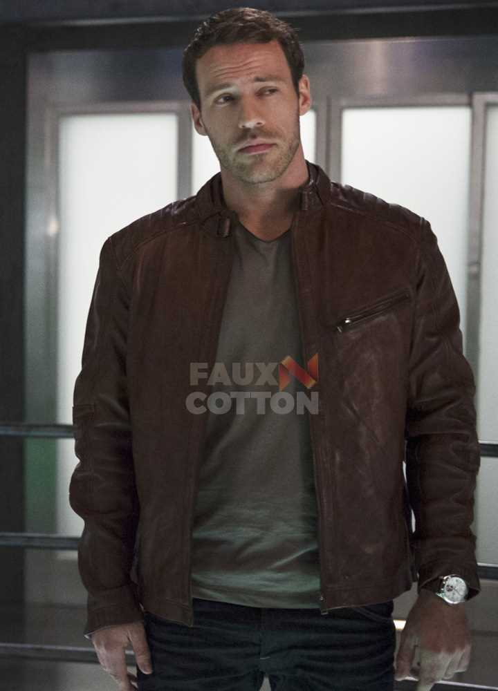 Flash Season 2 Hawkman Leather Jacket