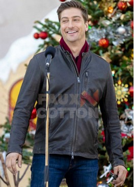 Christmas in Love Daniel Lissing Brown Jacket