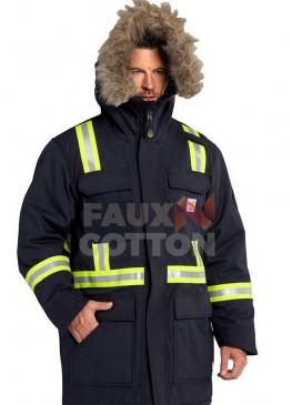 Cold Pursuit Liam Neeson Fur Jacket