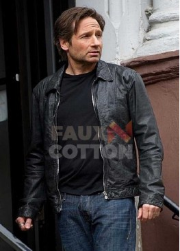 Californication David Duchovny Leather Jacket