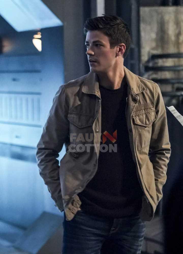 Season 5 Flash Grant Gustin Jacket