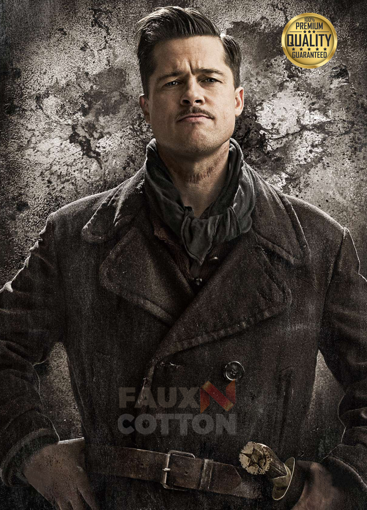 Inglourious Basterds Brad Pitt Lt. Aldo Raine Jacket