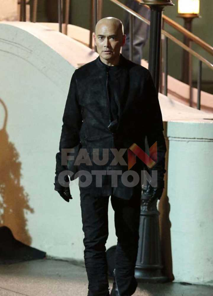 John Wick 3 Mark Dacascos Leather Jacket