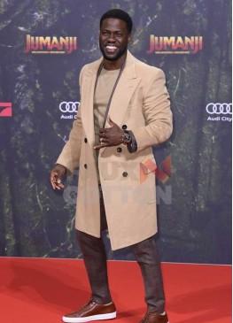 Jumanji Premiere Kevin Hart Coat