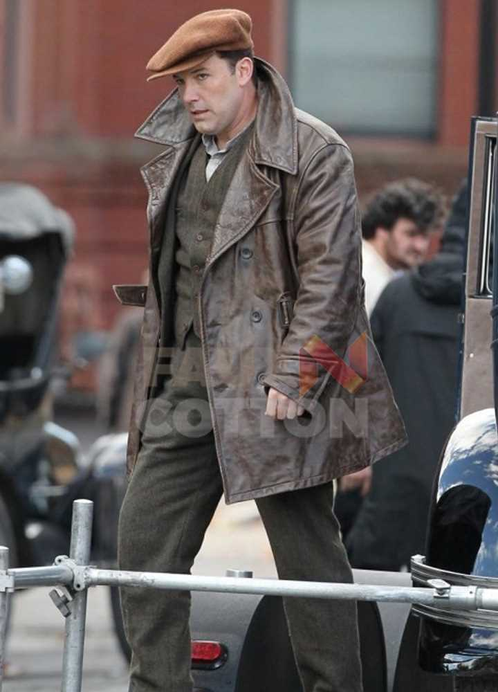 Live by Night Ben Affleck Leather Jacket