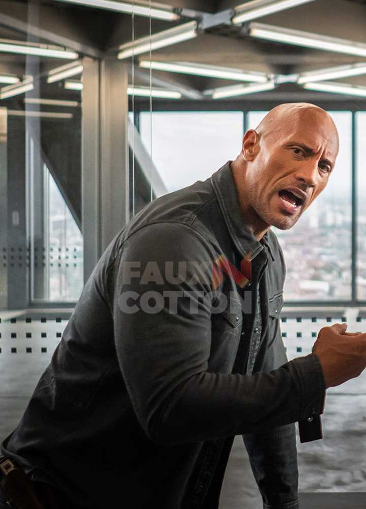 Fast And Furious 9 Dwayne Johnson Jacket