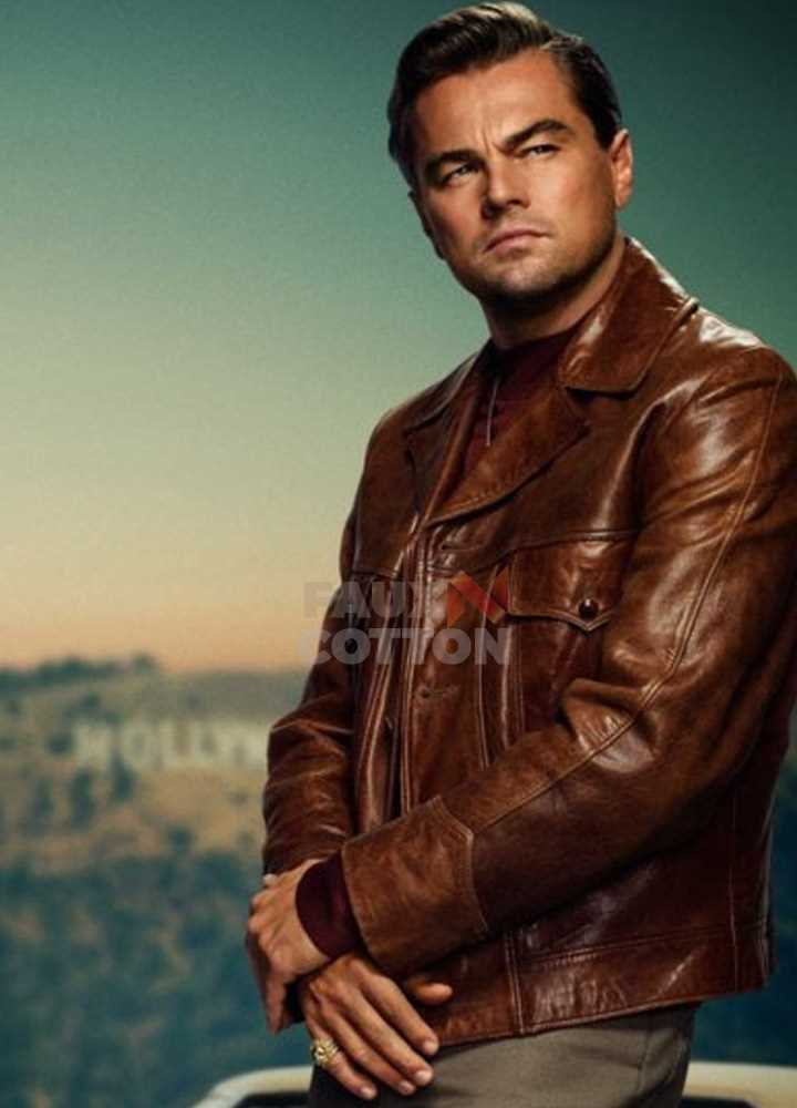 Once Upon a Time In Hollywood Leonardo DiCaprio Jacket