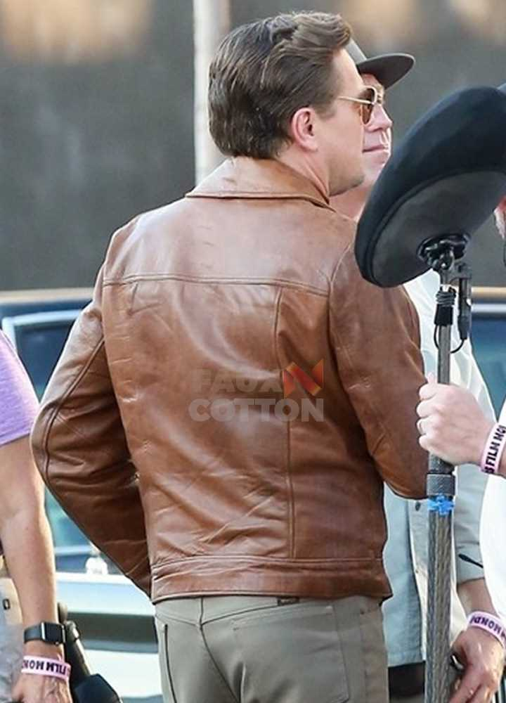 Once Upon a Time In Hollywood Leonardo DiCaprio Leather Jacket