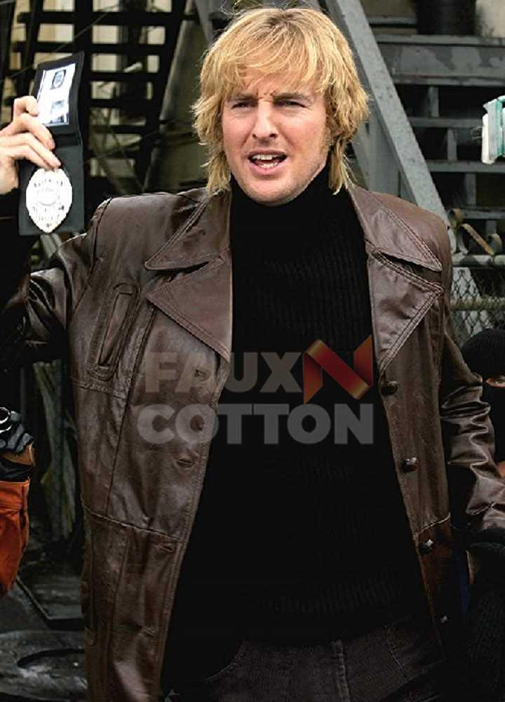 Starsky And Hutch Owen Wilso Ken Hutchinson Coat
