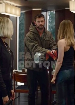 Avengers Endgame Thor Jacket With Hood