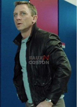 Casino Royale James Bond Black Jacket