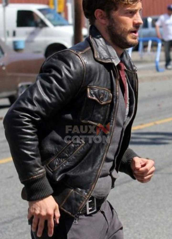 Once Upon a Time Sheriff Graham ( Jamie Dornan ) Jacket