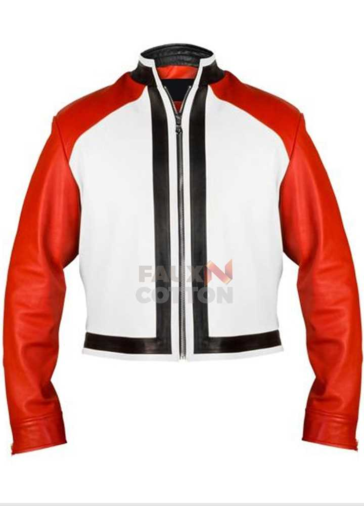 King of Fighter XIV Rock Howard Leather Jacket