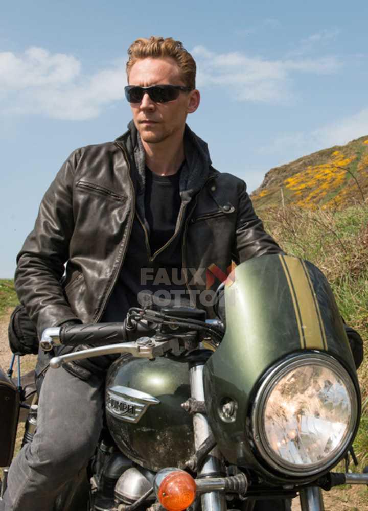 The Night Manager Tom Hiddleston (Jonathan Pine) Distressed Jacket
