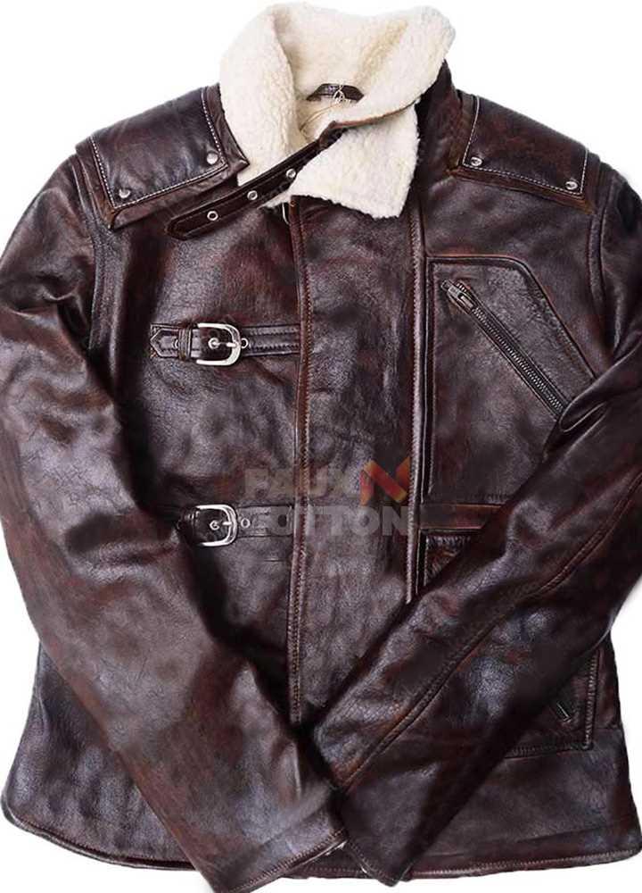 B.J. Blazkowicz William Joseph Wolfenstein Leather Jacket