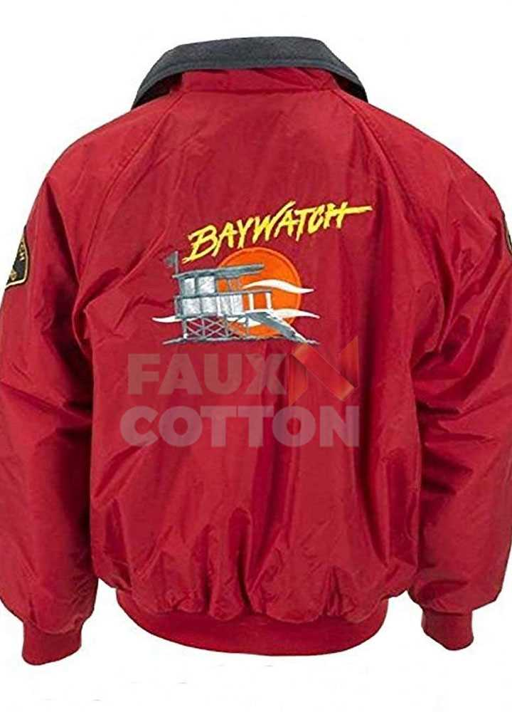Baywatch Lifeguard Bomber Jacket