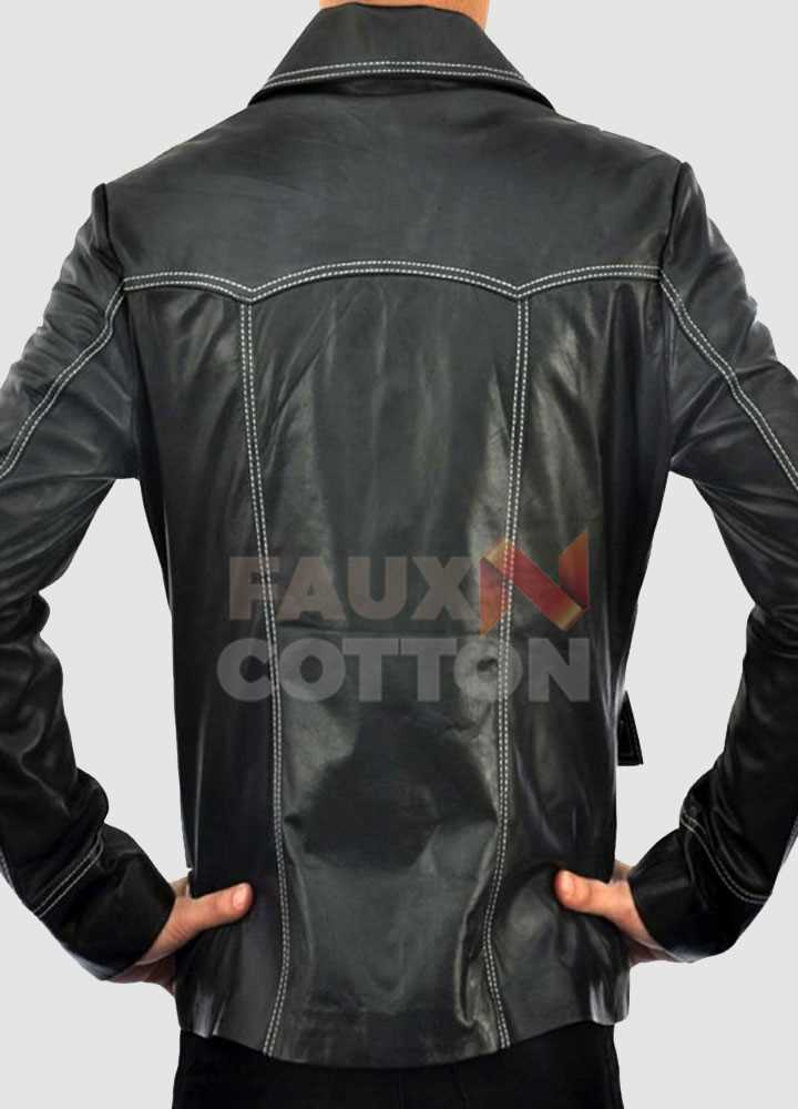 Fight Club Brad Pitt Leather Jacket
