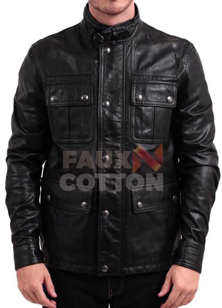 24 Live Another Day Jack Bauer (Kiefer Sutherland) Black Jacket
