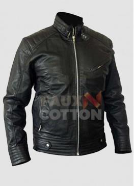 Bourne Legacy Jeremy Runner Black Leather Jacket