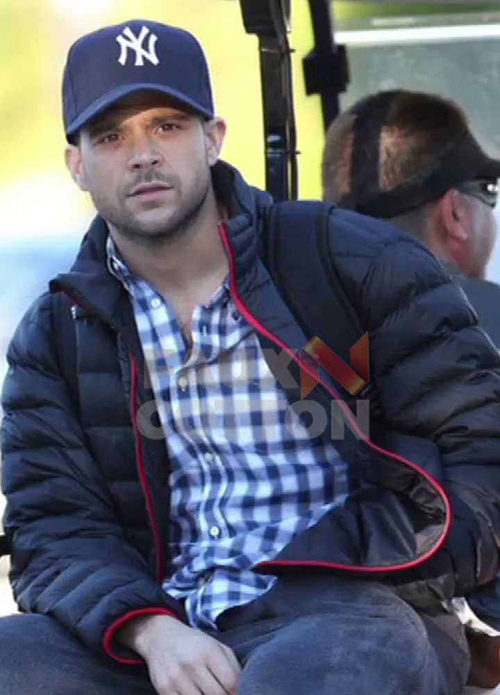 Power Jerry Ferrara Satin Jacket