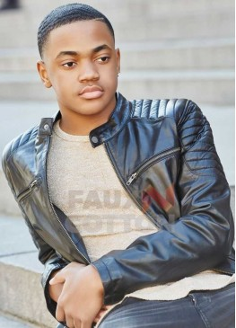 Power Michael Rainey Jr Black Leather Jacket
