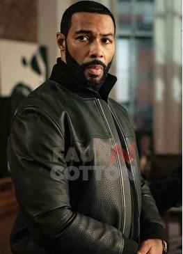 Power Omari Hardwick Leather Jacket
