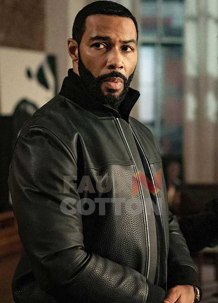 Power Omari Hardwick Leather Jacket