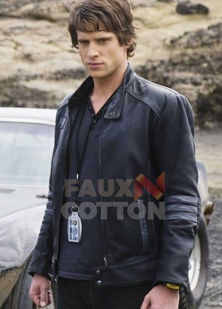 Power Rangers Rpm Dan Ewing Leather Jacket