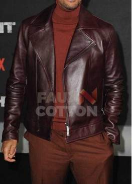 Bright Will Smith European premiere Leather Jacket