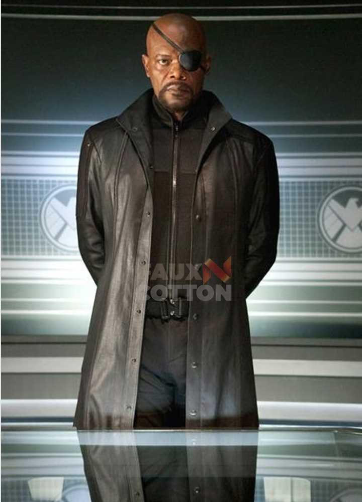 Avengers Age of Ultron Nick Fury Black Coat