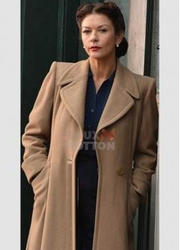 Dad Army Catherine Zeta Jones (Rose Winters) Trench Coat