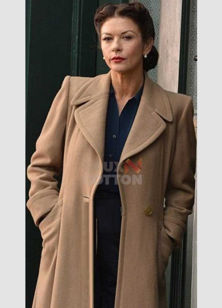 Dad Army Catherine Zeta Jones (Rose Winters) Trench Coat