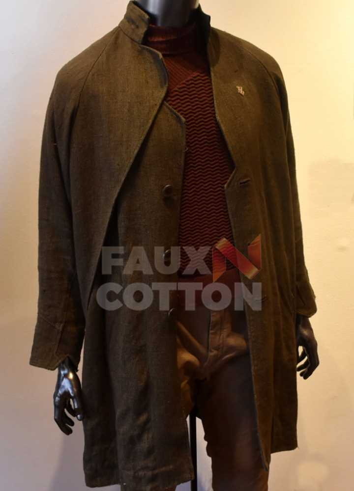 Star Trek Picard Patrick Stewart Green Coat