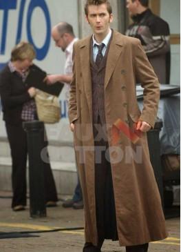 Doctor Who David Tennant Brown Coat