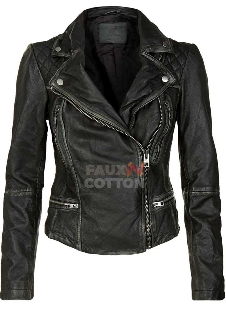 Agents of S.H.I.E.L.D Skye Jackson Biker Leather Jacket