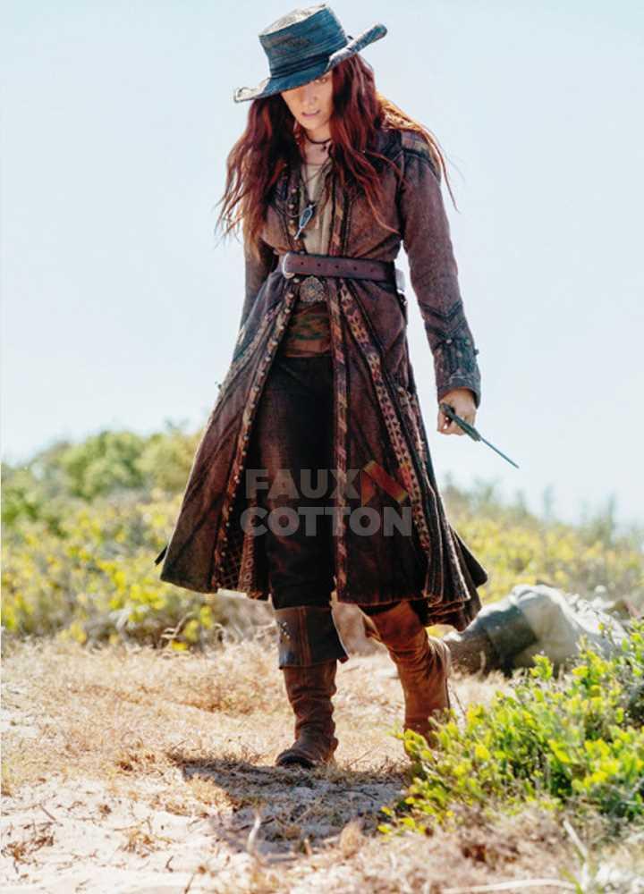 Black Sails Season 3 Anne Bonny Leather Coat