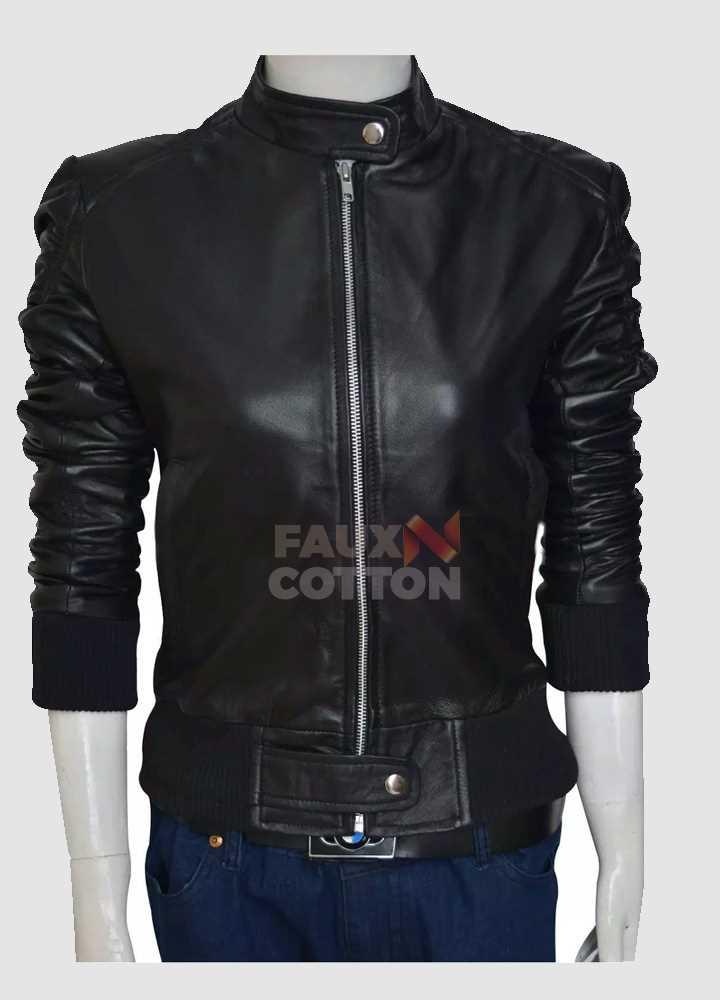 Elena Gilbert Vampire Diaries Leather Jacket