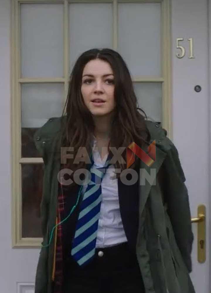 Anna and the Apocalypse Ella Hunt Coat