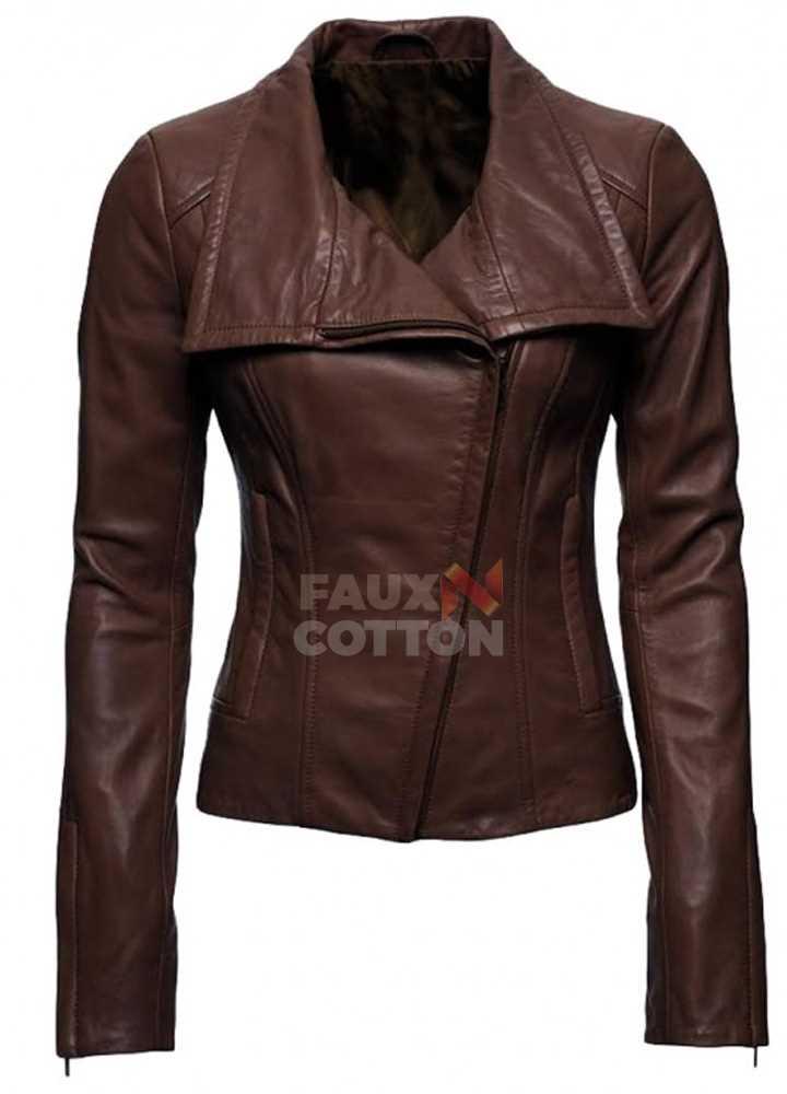 Arrow Lyla Michaels Brown Jacket