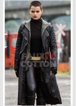 Deadpool Brianna Hildebrand Coat