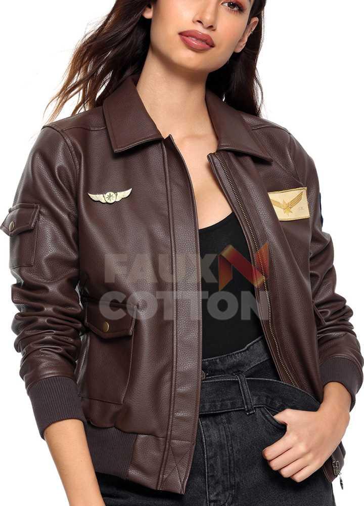 Captain Marvel Brie Larson Carol Danvers Bomber Jacket