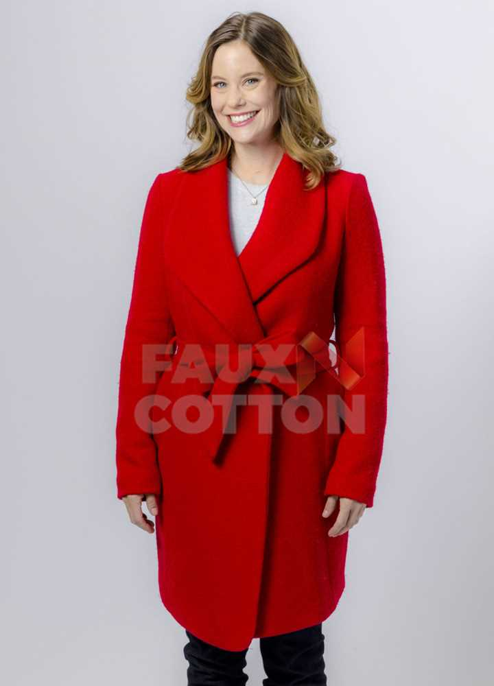 Christmas in Evergreen Ashley Williams Coat